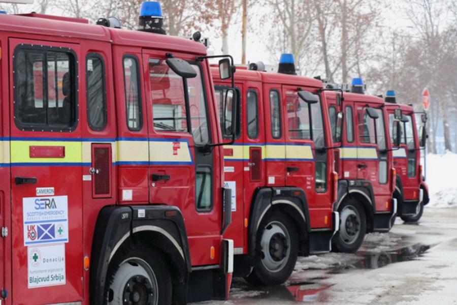 Крагујевачки ватрогасци добили четири специјализована возила