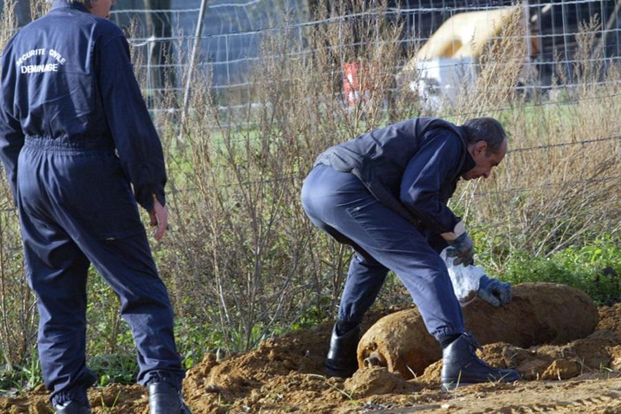 Граната из Другог светског рата пронађена у центру Крагујевца