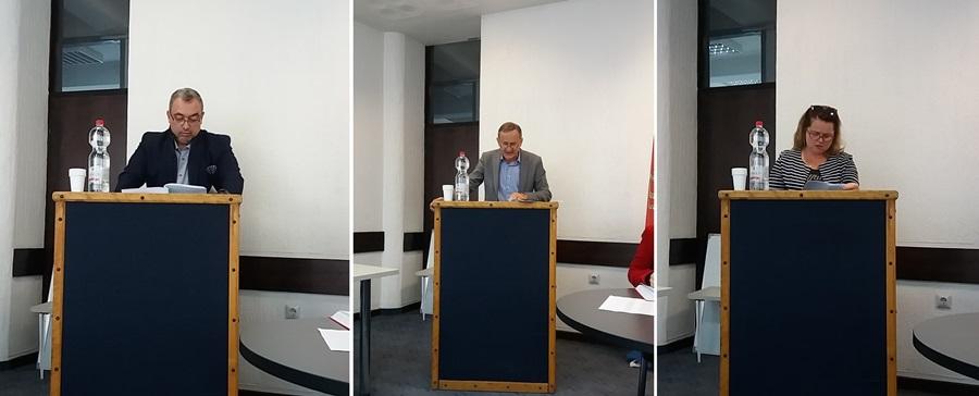 """Директори Дома здравља, Културног центра и ЈКСП """"Топола"""" поднели извештај о пословању"""